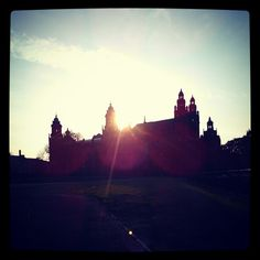 kelvingrove at sunset by @ijusty