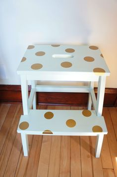 Kid-Friendly Stool: 10 Easy Ikea Hacks for the Nursery - mom. Bekvam Stool, Ikea Bekvam, Ikea Step Stool, Diy Stool, Baby Co Sleeper, Decoration, Kids Room, Easy Diy, Diy Projects