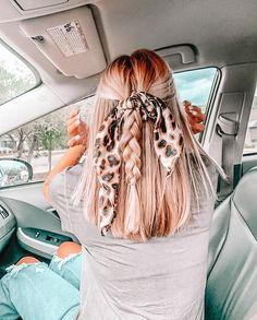 Cute Hairstyles For Teens, Teen Hairstyles, Summer Hairstyles, Pretty Hairstyles, Braided Hairstyles, Cute School Hairstyles, Hairstyle Pics, Medium Hair Styles, Curly Hair Styles