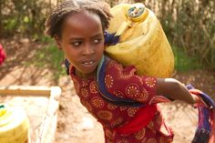 Many women spend 20 hours per week collecting water, some walking 7 miles a day, often for contaminated water. Let's bring safe water closer to them!