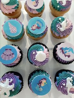Mermaid Cakes, Dessert Decoration, Treats, Tips, Desserts, Food, Sweet Like Candy, Tailgate Desserts, Goodies