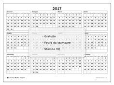"""Calendario """"Romulus (L)"""" 2017 da stampare"""
