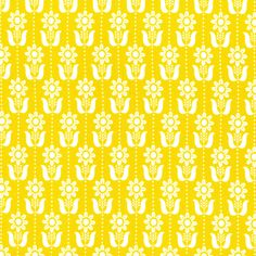 Folky Daisy | Mustard from Grey Abbey by Elizabeth Olwen for Cloud9 Fabrics