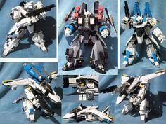 Transforming Macross Legos! Mmmmm  VA-4EntryPicS by ~JTSilversmith on deviantART