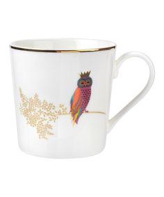 Sara Miller for Portmeirion Piccadilly Bone China Mug Opulent Owl Design Boxed for sale online Owl Coffee, Coffee Mug Sets, Mugs Set, Porcelain Mugs, China Porcelain, Owl Mug, Flamboyant, China Mugs, Beautiful Gift Boxes