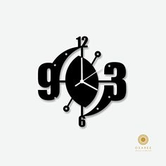Abstract Art Modern Wall Clock