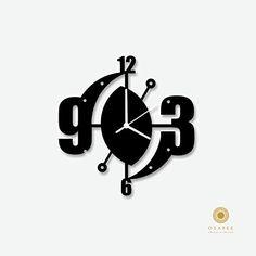 Abstract Art Modern Wall Clock
