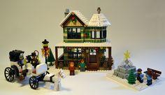 Winter Village: Jewelry Store by sonicstarlight, via Flickr