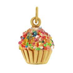 Cupcake charm.... I want one ♥