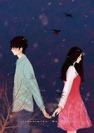 pin: l i s s e t t e✨💜 Love Cartoon Couple, Cute Couple Art, Anime Love Couple, Cover Wattpad, Iphone Cartoon, Cute Couple Wallpaper, Couple Sketch, Cute Anime Coupes, Couple Illustration