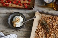 Anna Jones' Favorite Lentils with Roasted Tomatoes & Horseradish recipe on Food52