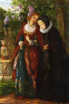 Silver and Gold by Arthur Hughes