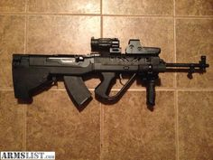 SKS Simonov 7,62 × 39mm rifle with Shernic Gun Works Bullpup Stock Kit