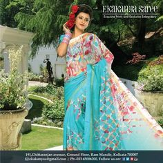 We style her mood.#EthnicWear #Saree #DesignerLook #Elegance #EkakanyaSarees