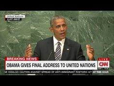 Obama At United Nations Calls For America To Be 'Bound By International Laws' Give Up Control • Now The End Begins