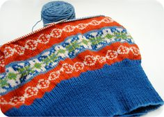 VKC: Planning colors for vintage stranded knitting | by gum, by golly!