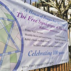 We're gearing up for a centennial celebration, Free Synagogue style! Holiday Service, High Holidays, Night Book, Torah, Event Ticket, Prayers, Celebration, Free, Style