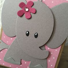 Elephant Shower, Elephant Party, Baby Elephant, Dibujos Baby Shower, Elephant Baby Shower Centerpieces, Baby Boy 1st Birthday Party, Baby Door Hangers, Baby Girl Scrapbook, Card Making Templates