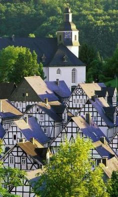 Freudenberg, Germany.I want to go see this place one day.Please check out my website thanks. www.photopix.co.nz