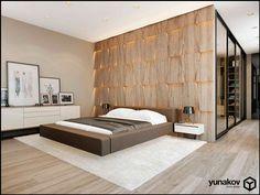 Дизайн интерьера спальни | Дизайн интерьера квартир, домов, ресторанов, офисов - Архитектурное бюро мастерская Yunakov home