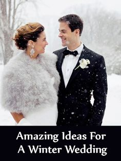 Amazing Ideas For A Winter Wedding