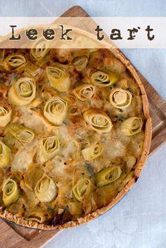 Melted Leeks And Ricotta Tartine Recipe — Dishmaps