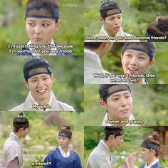 i can't stop laughing because of this 😂moonlight drawn by clouds Love In The Moonlight Kdrama Quotes, Moonlight Quotes, Drama Funny, Drama Memes, Kdramas To Watch, Cloud Quotes, Moonlight Drawn By Clouds, K Drama, Korean Drama Quotes