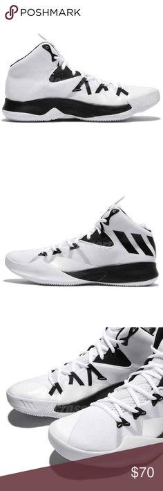 sports shoes f87af b2eef Adidas Dual Threat 2017 Mens 13 Shoes NEW Adidas Dual Threat 2017 Mens 13  White Black