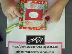 YouTube...How to make a paper bag book. Tutorial that used holiday-themed decorated bags. Nice!