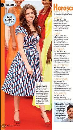 The power of a fresh and pretty print and a classic wrap dress