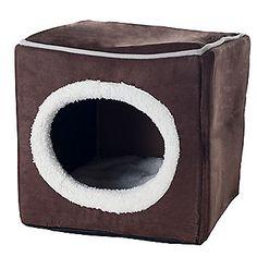 PAW Cozy Cave Enclosed Cube Pet Bed