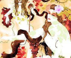Noumeda Carbone italian artist and award winner freelance illustrator