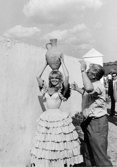 """— Brigitte Bardot in """"La Femme et le Pantin"""", 1958"""