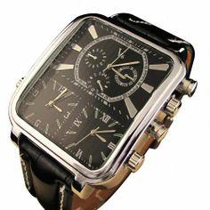 Youyoupifa Special Design 3 Dials PU Strap Wrist Watch - http://www.specialdaysgift.com/youyoupifa-special-design-3-dials-pu-strap-wrist-watch/