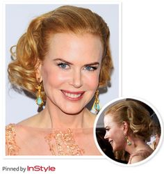 """Nicole Kidman — """"I thought I'd try out short hair for a change, so I just chopped it off!"""" Strawberry Blonde Hair, Red Carpet Ready, Face Hair, Nicole Kidman, Engagement Couple, Wedding Hairstyles, Wonderland, Hair Care, Short Hair Styles"""