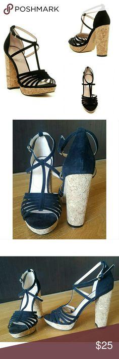 967c2af24804 Charles David Faint Platform Heel Sandals Never worn-new without tags -a  vintage inspired