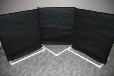 PVC Sound Booth Panels:  Use PVC as a frame to build a sound booth for recording music or voice talent. - FORMUFIT.com