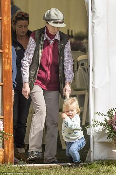 Mia Tindall attended day 2 of the Whatley Manor International Horse Trials at Gatcombe Park on September 12, 2015 in Stroud, England.