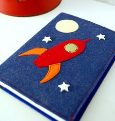 Felt Applique Journal Cover