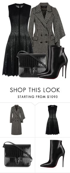 """Untitled #5154"" by beatrizvilar on Polyvore featuring Burberry, Alaïa and Christian Louboutin"