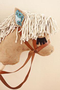 Cavalo de vara DIY