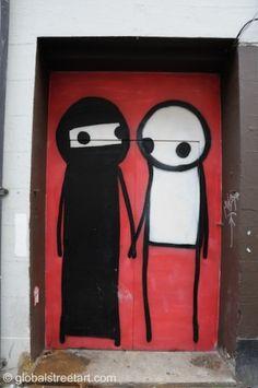 Street Artist Stik   Londonist
