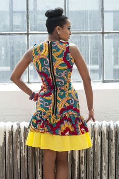 Sup though I need to see the shoes love the dress African Dresses For Women, African Print Dresses, African Attire, African Wear, African Women, African Clothes, African Prints, African Style, African Beauty