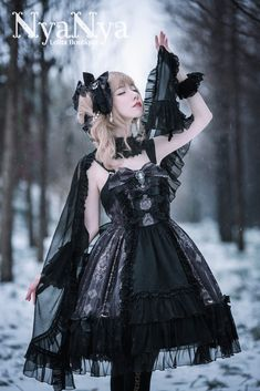 NyaNya Lolita -Carol of the Nightingale- Lolita Normal Waist JSK
