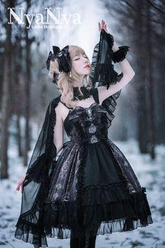 NyaNya Lolita -Carol of the Nightingale- Lolita Normal Waist JSK