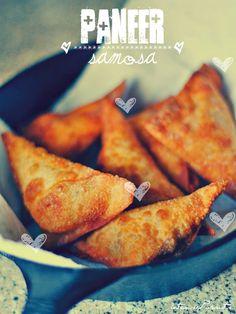 paneer aka cheese samosa [iftaar munchies] vegetarian recipes