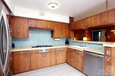 Reimaging our kitchen with white subway backspash and white countertop (and floor tile)