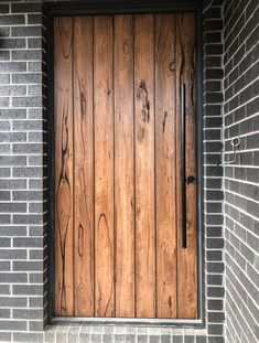 Recycled Messmate Clad Front Door with OSMO Tobacco Stain. Timber Revival, Melbourne. Made in Melbourne, shipped nationally around Australia. #frontdoor #timberdoor #recycledtimberdoor  #messmate