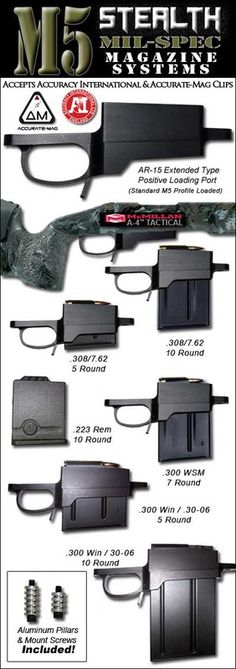 Stealth DM Detachable Magazine System, this on a barreled Remington 700 with an aimpoint, sling and light would make a great gun Tactical Rifles, Firearms, Shotguns, Remington Model 700, Rifle Stock, Bolt Action Rifle, Military Gear, Hunting Rifles, Cool Guns