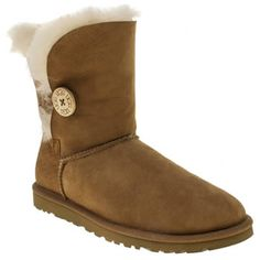 chestnut bailey button, part of the womens ugg boots range at schuh. Snow Boots, Winter Boots, Australia Snow, Ugg Bailey Button, Winter Must Haves, Ugg Classic, Ugg Shoes, Shoe Collection, Uggs